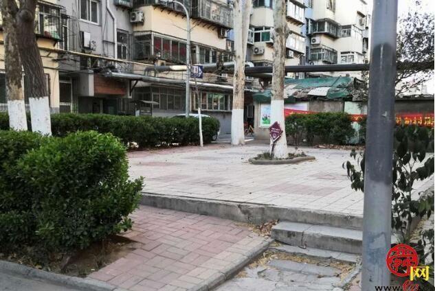 旧貌换新颜 解放路街道绿城在行动