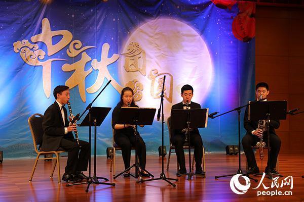 中国驻美国大使馆举行中秋联谊招待会