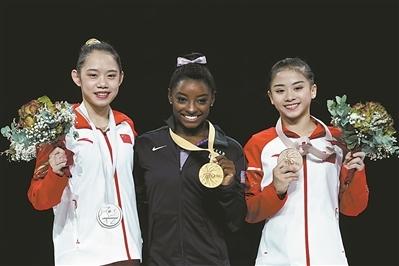 世锦赛取得3银2铜 中国体操26年来首次无金