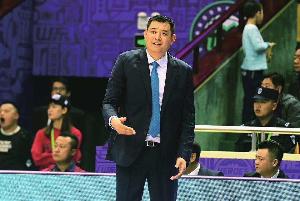 山东西王男篮主教练巩晓彬展望CBA新赛季:球队肯定要提速 全力争取好成绩