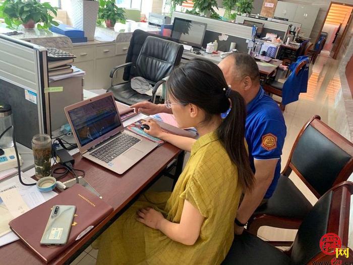 """历下历园新村社区""""网格蓝""""服务不停 大温暖持续在线"""