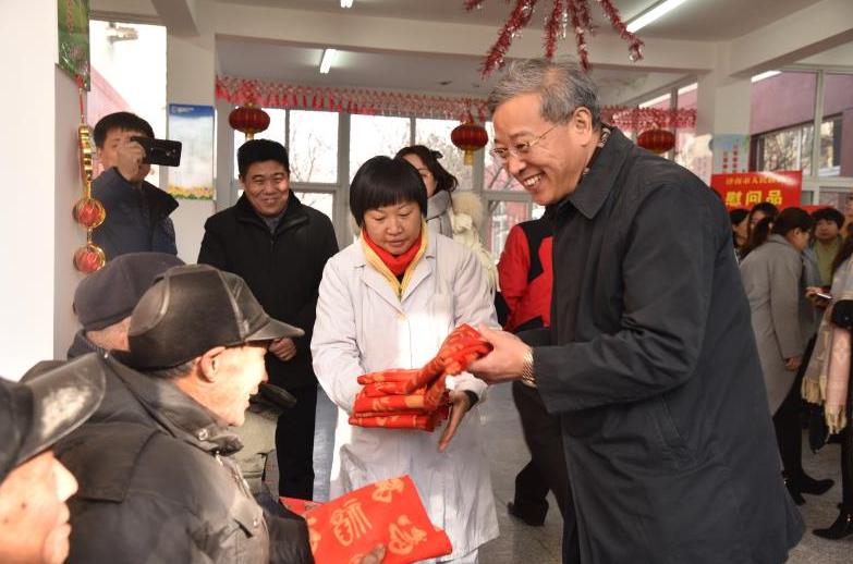济南市举行第66届世界防治麻风病日暨第32届中国麻风节慰问活动