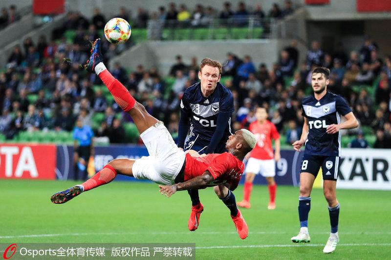 亚冠-黄博文破门高准翼失误 广州恒大客场1-1平墨尔本胜利