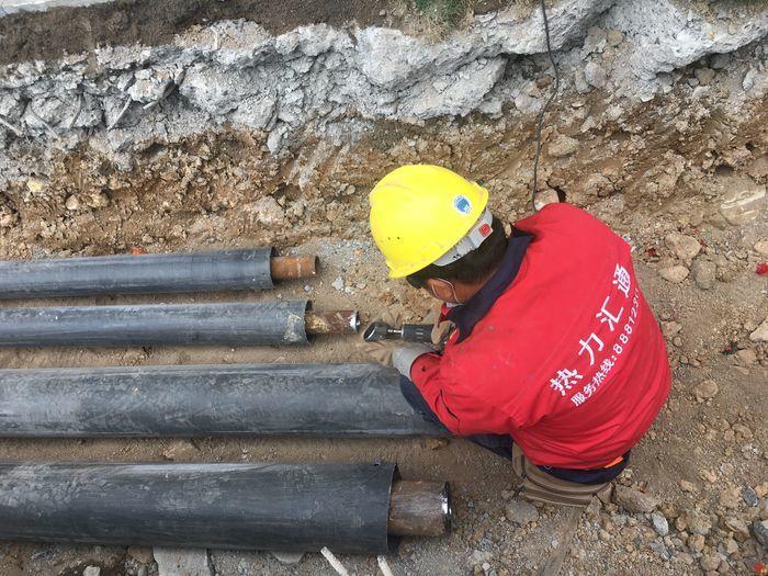 万博意甲章丘区百合花园集中供热工程正式开工建设
