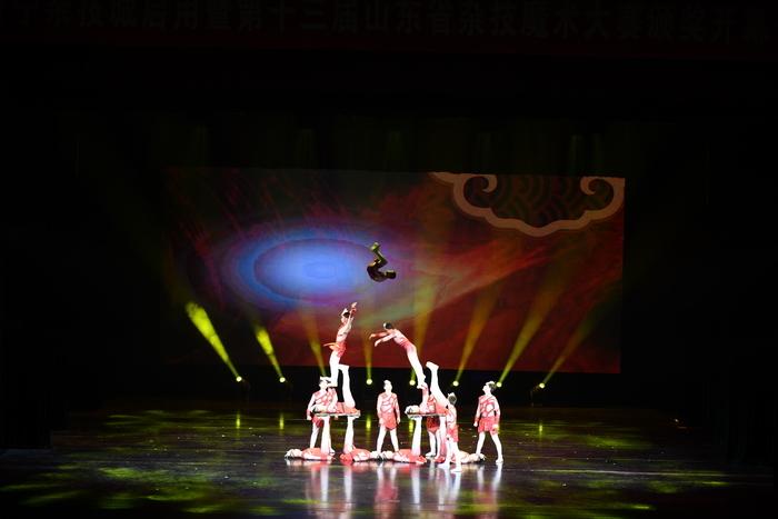 第十三届山东杂技魔术大赛颁奖典礼暨济宁杂技城启用仪式隆重举行
