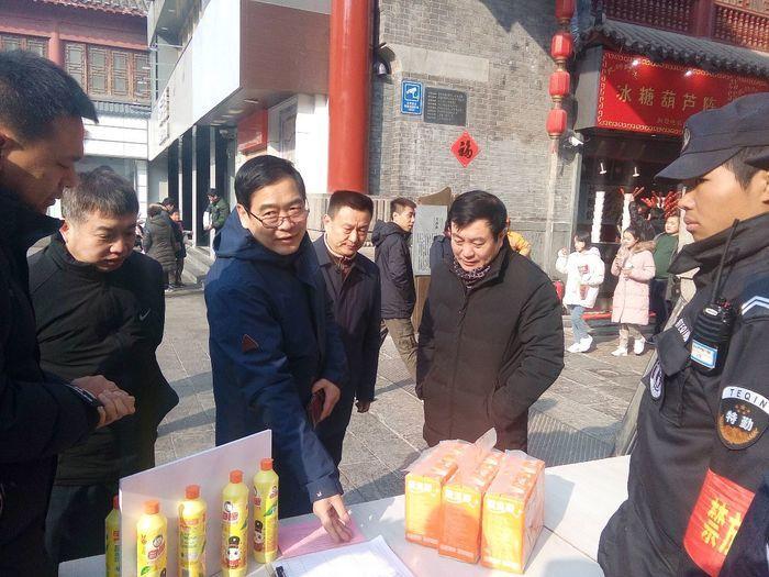【新春走基层】节后第一天市文明办督导烟花爆竹禁燃禁放工作