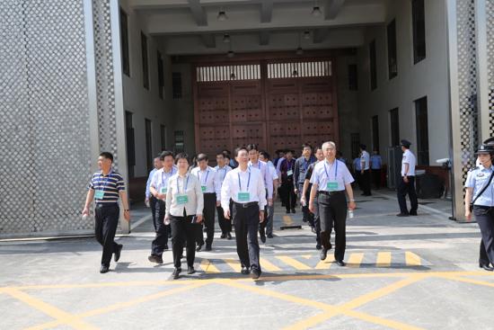 """济南第二监狱开放日  """"零距离""""了解服刑人员日常生活"""