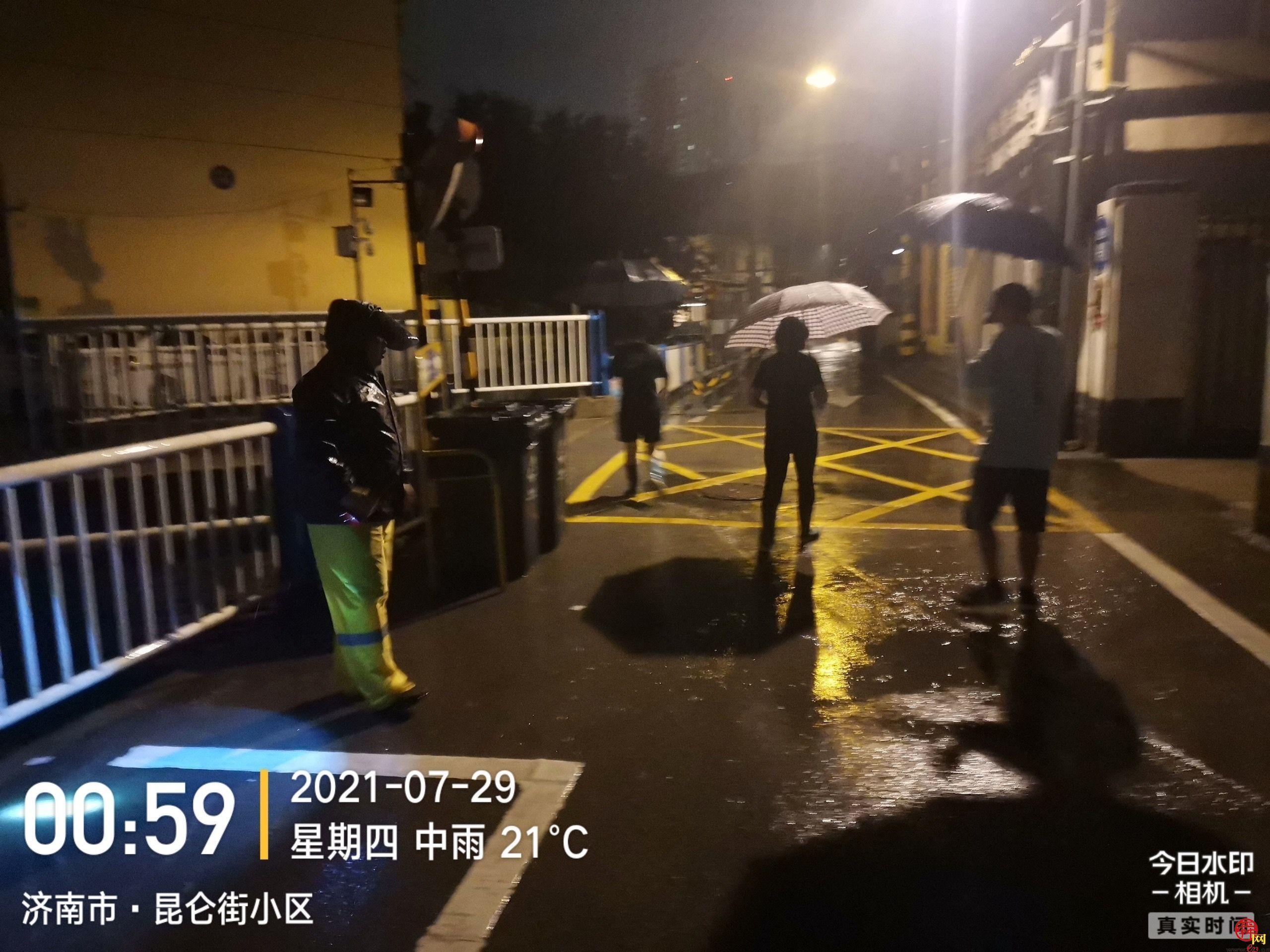 """槐荫全力以赴迎战迎战第6号台风""""烟花"""""""