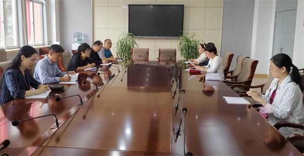 济南艺术学校行政党支部第二党小组召开党小组会
