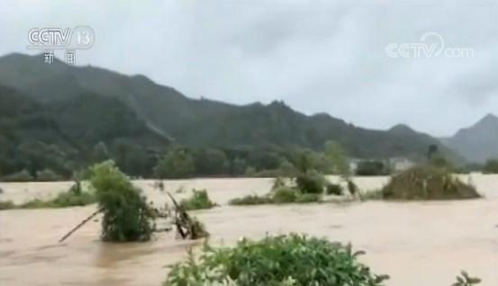 """迎战""""利奇马""""・水利部:73条河流发生超警戒洪水"""