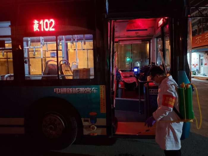 复工复产进行时,济南公交在行动