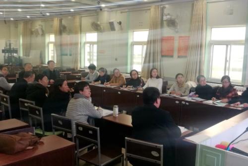 济南中学召开高中化学教研组会议规划课程教学