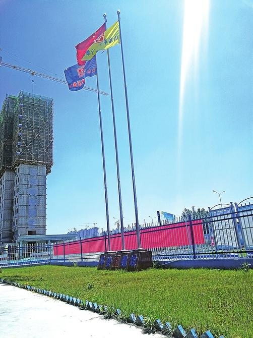 提升工程形象提高治尘水平 济南推广花园式建筑工地