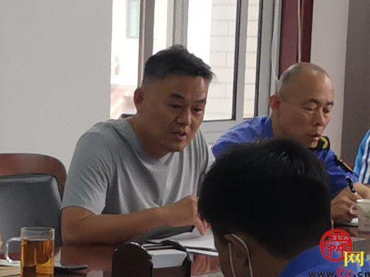 龙洞街道召开城市管理工作会议
