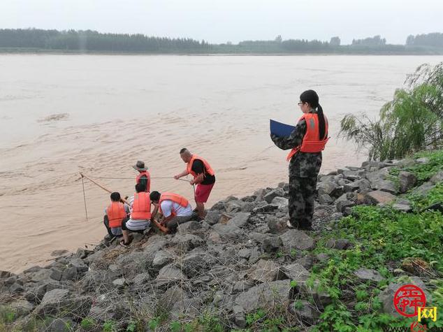 严阵以待,济南市沿黄各级积极应战黄河下游大流量过程