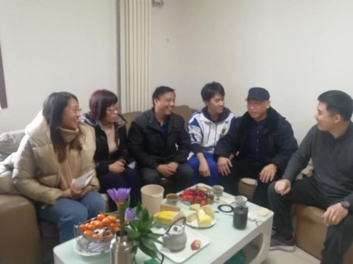 山东省实验中学中心校区扎实开展寒假家访工作