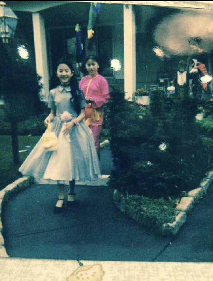 刘亦菲小时候过万圣节照片曝光,是小仙女本仙!