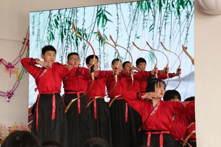 长清五中师生同乐庆元旦