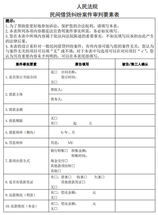 山东:九类民商事案件实行要素式审判 提升审判质效