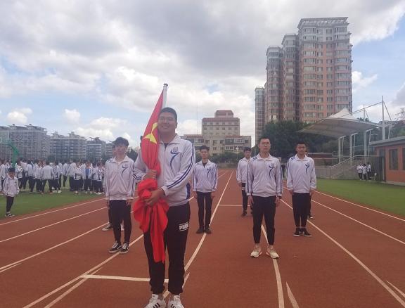 感恩母校  圆梦六月——济南艺术学校举行高三毕业主题升旗仪式