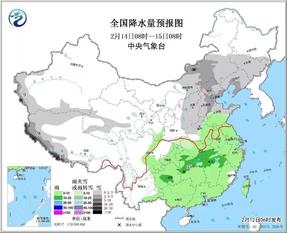 北京下雪了,新疆下雪了,湖南湖北也要下雪了……