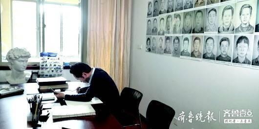 """""""梅姨""""像作者,山東警官林宇輝講述被拐孩子家庭的故事"""