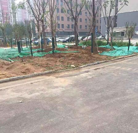 【啄木鸟在行动】凤凰路与清河街辅路交汇处附近渣土裸露