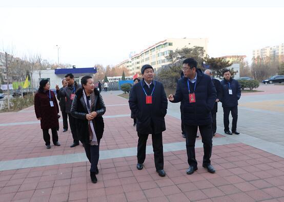 张志勇、张琳检查济南2019年普通高校招生美术类统一考试工作