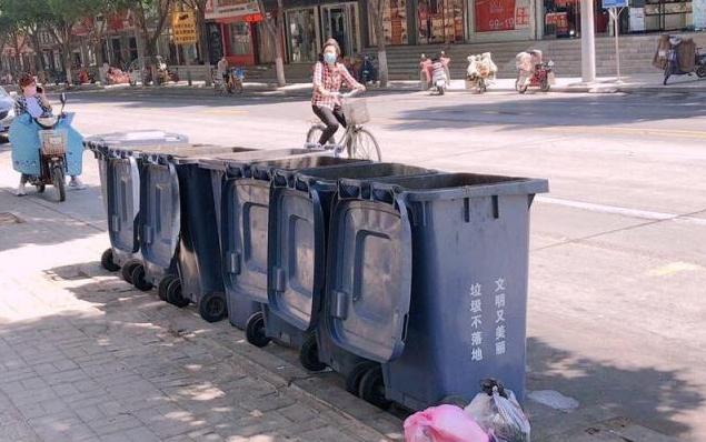 """【行走城管走进商河】探访生活垃圾清运""""0桶计划"""""""