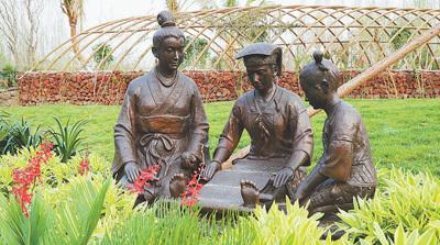 【北京世园会风采】海南园:海岛风情 椰风扑面