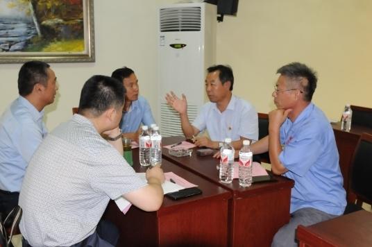 """济南市残联到平阴县开展""""一对一""""结对帮扶民营企业活动"""