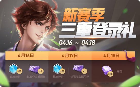 王者荣耀4月16日更新活动汇总 王者荣耀s15赛季新活动有哪些