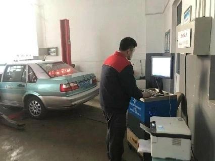 济南公交恒通澳门新葡亰平台游戏修配公司成为济南市第一批机动车尾气治理站