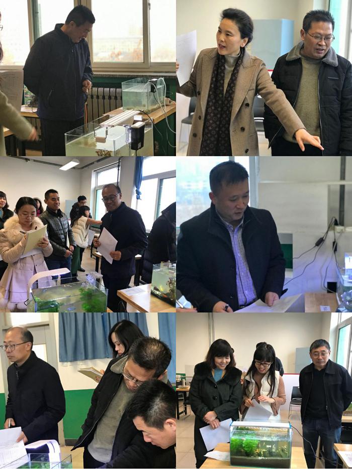 济南九中生物组举行教研活动
