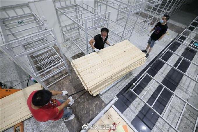 关门大吉!武汉江汉方舱医院彻底关了,曾在34天内累计收治1848人