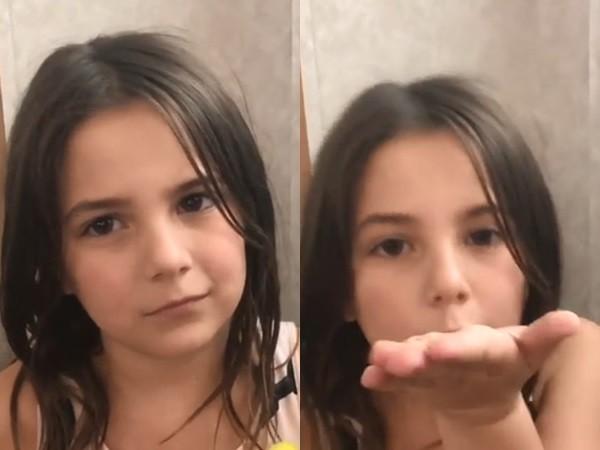 """《复联4》钢铁侠女儿遭网络霸凌 拍视频求饶""""我只有7岁"""""""