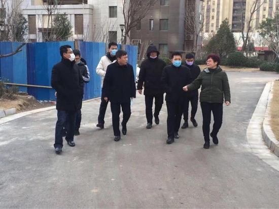 槐荫区联防联控应对疫情 守护健康平安春节