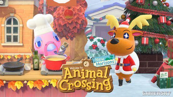 《集合啦!动物森友会》冬季免费更新发布 腾讯加速器限免加速助力畅玩