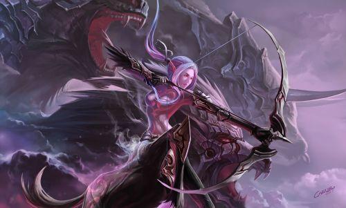 《魔兽世界怀旧服》猎人强势装备 60年代最强的弓是它!