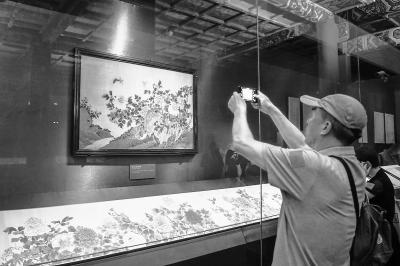 故宫展出300余件古代花木题材文物 多件为首次亮相