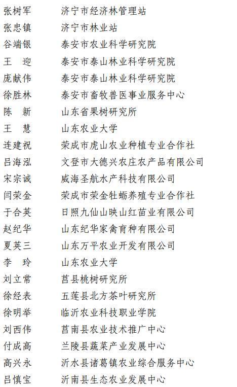 山东省科技厅:对88名科技特派员、35家组织实施单位通报表扬