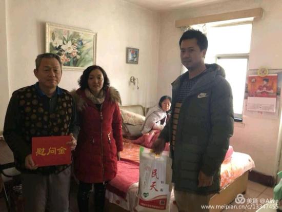 天桥区中医药管理局走访慰问街道困难计生家庭