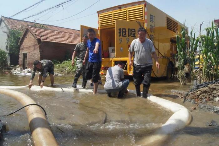 到人民需要的地方去!济南市应急局协调精锐力量支援邹平抗洪