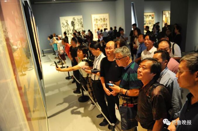 这个70岁的全国美展,终于在山东济南开幕了!最新现场图超好看!