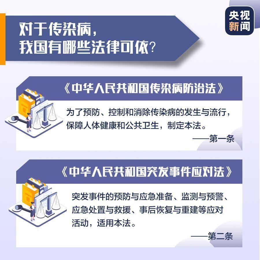 疫情防控个人有啥义务?拒绝隔离会怎样?法律规定→