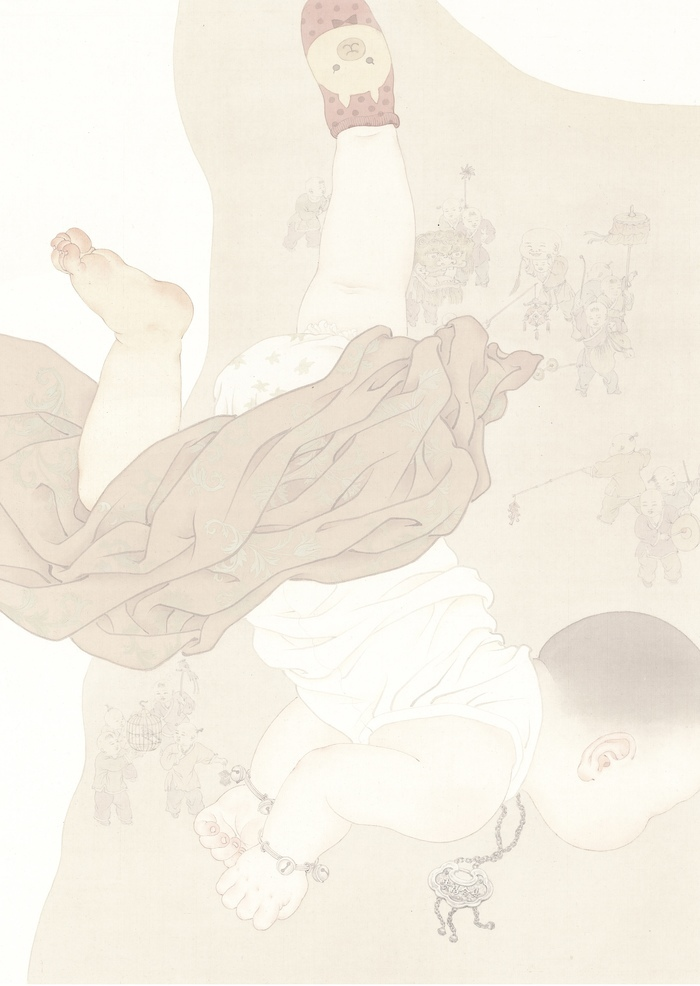 第十三届全国美展开幕 济南90后画家刘璐璐入选