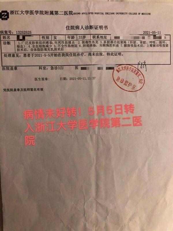 杭州女子吸脂手术后器官衰竭致死,真相到底是什么?