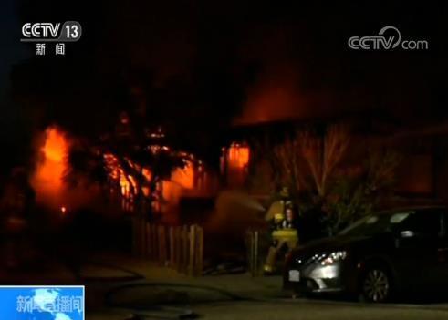 美国加州南部产生7.1级地震 本地消防局部称正应对多起火灾
