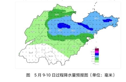 今夜起,济南东部等山东多地中到大雨,局部暴雨