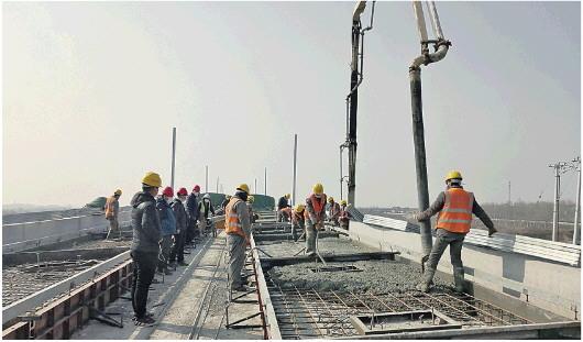 """山东重点项目建设按下""""快进键"""" 1021个项目聚焦基础设施等四大领域"""